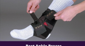 Using ankle braces for pain relief